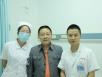 邓小平扮演者、峨影厂特型演员陈家甫到我院接受手术治疗