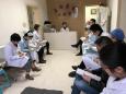 口腔科、美容科组织学习医院职代会精神