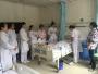 护理部举办跌倒、深静脉置管脱落的应急预案演练