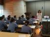 菲律宾sunbet太阳城院感科组织全院保洁工人对感染相关知识培训