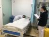护理部组织新进护士进行CPR操作考核