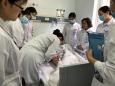 老年病东区分部护理组中心静脉置管维护培训
