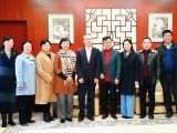 五冶集团副总经理张刚带队赴四川大学华西第二医院开展合作交流