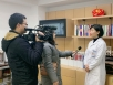 张玲院长接受成都电视台记者采访