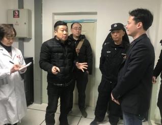 五冶集团综合事务部来我院检查指导消防安全工作