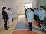 365bet体育在线滚球护理部、院感办对护工进行新型冠状病毒感染防控培训