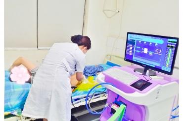 五冶医院成功开展结肠水疗项目