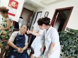 走进家庭 用心照护 腾博会以诚信为本为失能老人提供上门护理