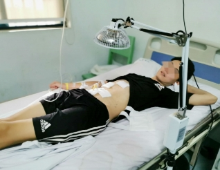 患者故事:年轻小伙遇到胃穿孔