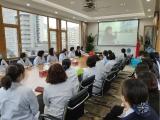 五冶医院组织员工观看卫健行业领域突出问题系统治理云直播