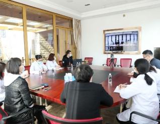 五冶集团医院传达环球医疗集团疫情防控会议精神并部署相关工作
