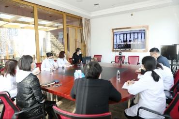 五冶集團醫院傳達環球醫療集團疫情防控會議精神并部署相關工作