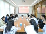 同频共振  共谋新篇  四川省建筑医院邓胜权一行到我院参观交流