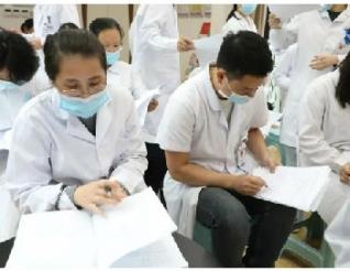 我院13名胡广芹弟子顺利通过鍉圆针系统痧疗技术考核